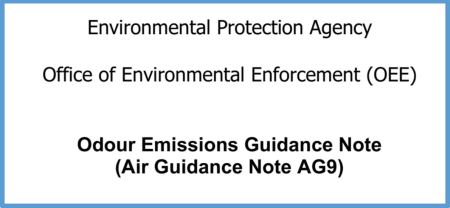 'AWN's Dr. Edward Porter and Dr. Fergal Callaghan author the EPA's recent Odour Emissions Guidance Note – 2019' image